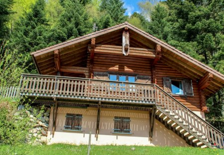 House in La Bresse, France
