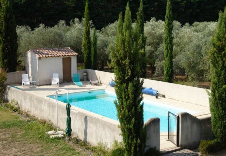 House in Mas-Blanc-des-Alpilles, the South of France