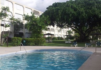 Apartment in Sunset Crest, Barbados: Pool and Gardens