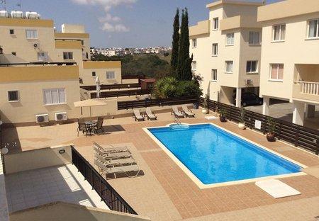 Apartment in Kapparis, Cyprus: Pool view from 45sq metre verandah