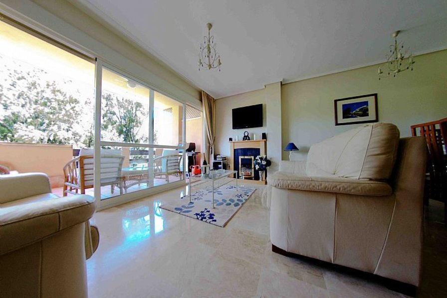 Apartment In Spain, Marbella: Lounge