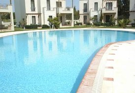 Villa in Turkey, Yalıkavak: view of pool taken april 2007