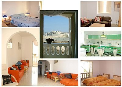 Apartment In Valletta, Malta: Collage Of Apartment Interior