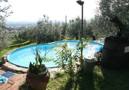 Farm House in Calenzano, Italy: piscina