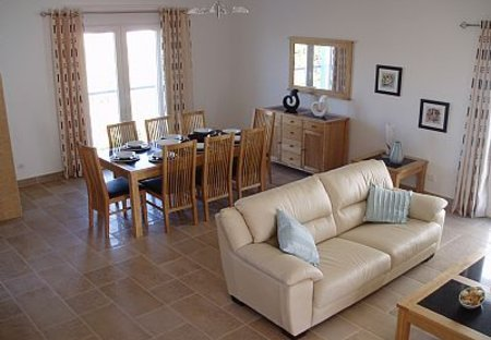 Villa in Burgau, Algarve: Lounge