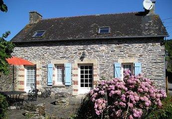 Cottage in Caurel, France