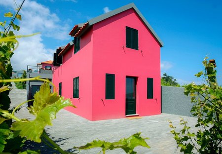Country House in Farrobo, Madeira: front view