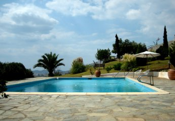 Country House in Athens Beach, Greece: September by the pool