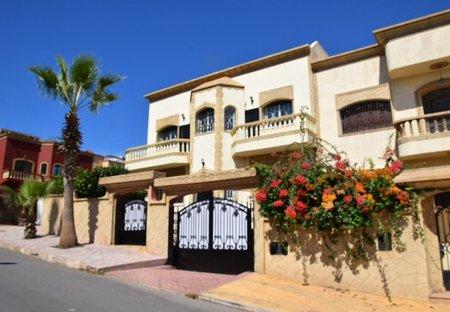 Villa in Sale, Morocco: facade front side