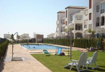 Apartment in Spain, La Cinuelica: Large communal pool area