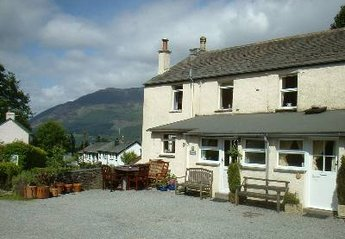 Cottage in Ambleside and Grasmere, England: Front View Of Talcomb