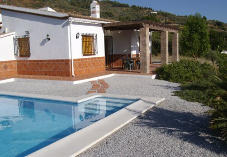 Country House in Canillas de Albaida, Spain