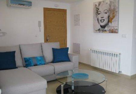 Apartment in Hacienda Riquelme Golf Resort, Spain: The lounge