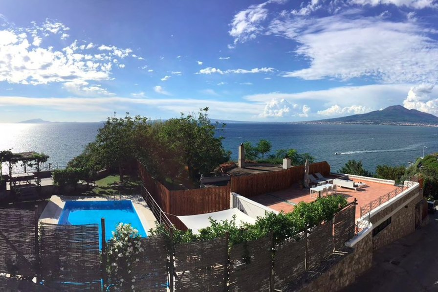 Villa To Rent In Vico Equense Italy With Private Pool 53270