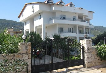 Penthouse Apartment in Akbuk, Turkey: Gated entrance to Bay View Complex