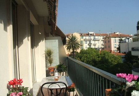 Apartment in Clemenceau, the South of France: Sun Terrace