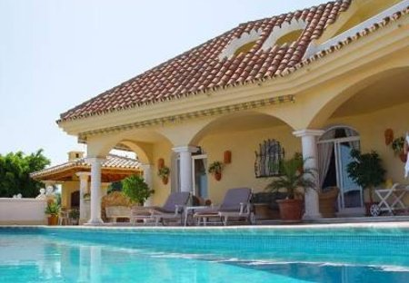 Villa in La Quinta Golf & Country Club, Spain: heated private pool and terrace