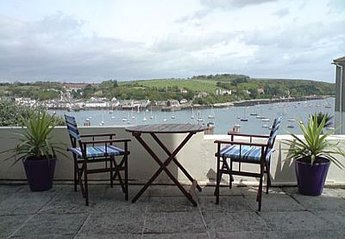 Apartment in Falmouth Penwerris, England: Stunning views from the Patio
