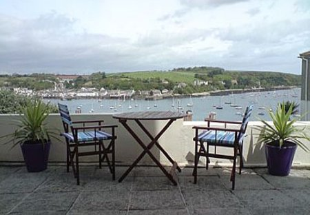 Apartment in Falmouth, England: Stunning views from the Patio