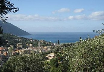 Villa in Recco, Italy: view from the villa