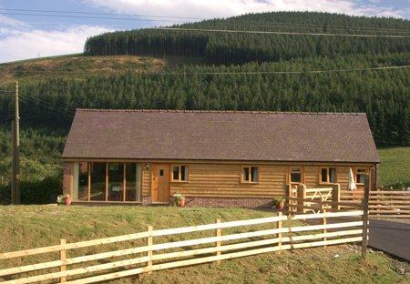 Lodge in Nantmel, Wales