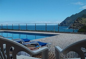 Apartment in Vila Porto da Cruz, Madeira: View from the Swimming Pool