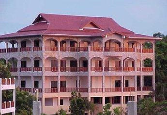 Villa in Plai Leam, Koh Samui: View from back