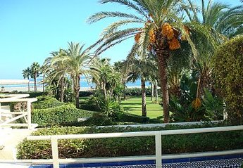 Apartment in Puerto Sotogrande, Spain: View to the beach from the apartment
