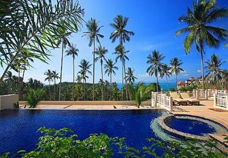 Villa in Bang Por, Koh Samui: swimming pool