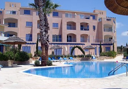 Apartment in Tombs of the Kings, Cyprus: Apartment and Pool