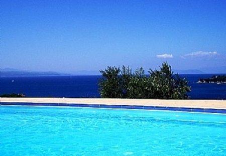 Villa in Skiathos, Greece: Pool Views