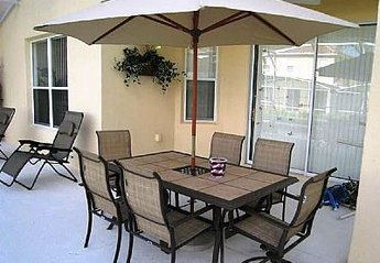 Villa in Tuscan Hills, Florida: Outside Dining Area