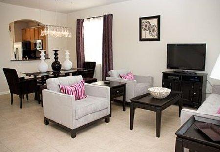 Villa in Windsor Hills, Florida: Luxury Formal Living Room and Dining Room