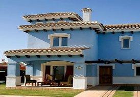 Villa in Spain, Mar Menor Golf Resort: Front View