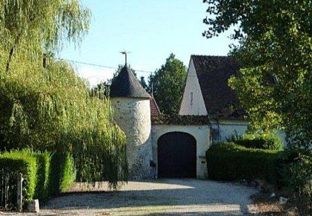 Gite in Luçay-le-Mâle, France: Manoir de la Foulquetiere