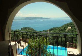 Apartment in Greece, Aghios Stefanos (ne): balcony views 4