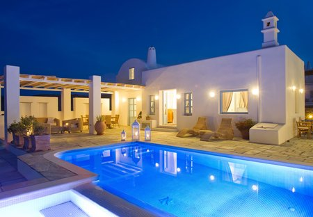 Villa in Vourvoulos, Santorini
