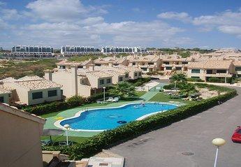 Villa in Lomas de Campoamor, Spain: communal pool