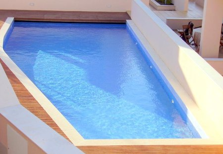 Apartment in Burgau, Algarve: Good Sized Pool with shallow end