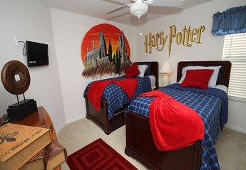 Villa in Lake Berkley, Florida: Twin Room