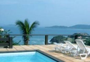 Villa in Ferradurinha, Brazil: Fantastic view to the ocean and beaches