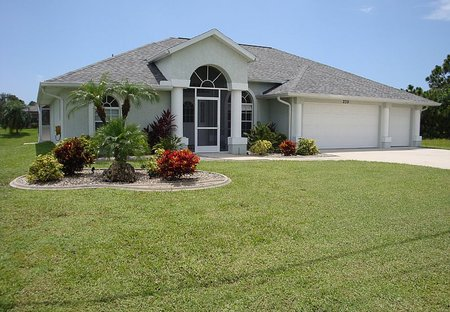 Villa in Cape Haze, Florida: Villa Front