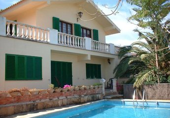 Villa in Portocolom, Majorca: private pool