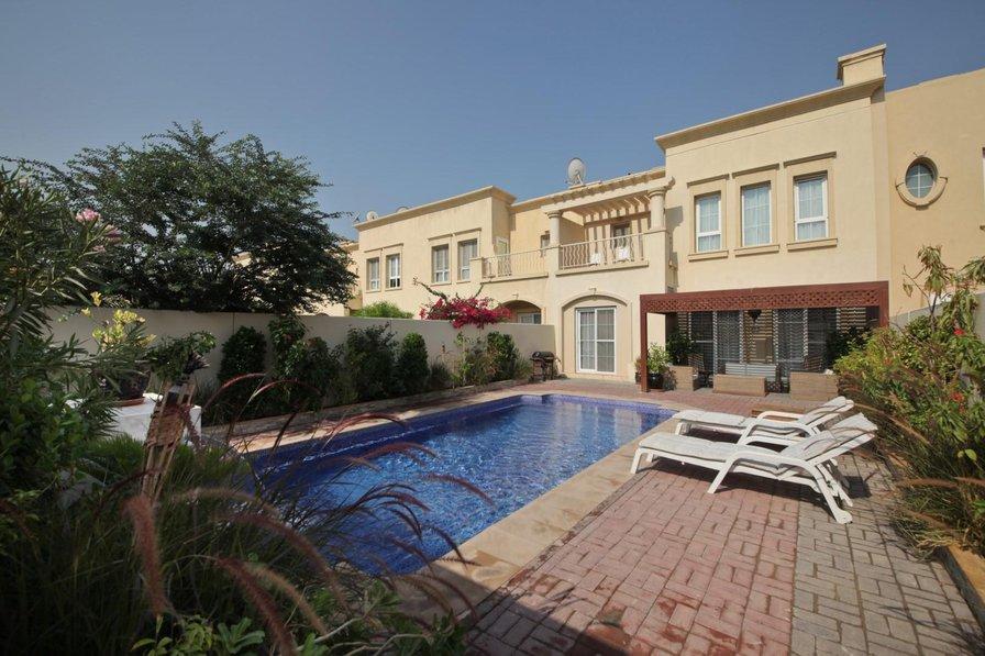 Villa To Rent In Dubai United Arab Emirates With Private Pool 80014