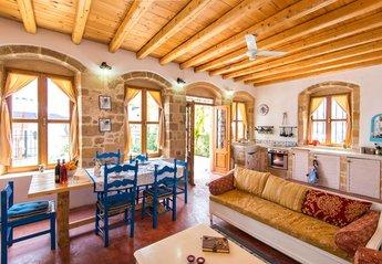 Village House in Ialyssos Center, Rhodes