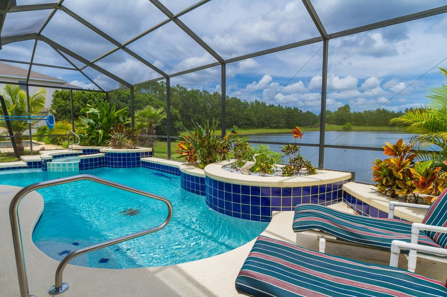 Bedroom Villa To Rent In Orlando With Pool