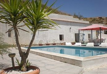 Village House in Spain, Cortes de Baza: Pool and Terrace