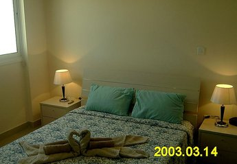 Apartment in Kiti village, Cyprus: Double Bedroom