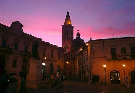 House in Sulmona, Italy: Sulmona at Night