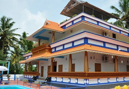 Villa in Poovar, India